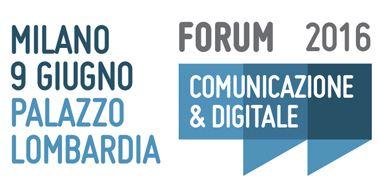 Intervento al Forum della Comunicazione